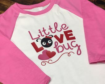 Little Love Bug Raglan
