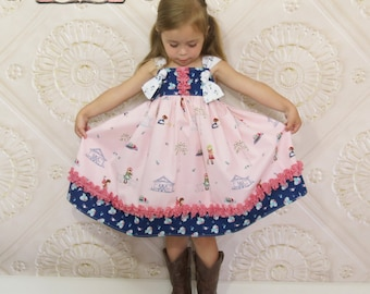 Girls Knot Dress, Toddler Girl Boutique Clothing, Toddler Knot Dress, Country Girl