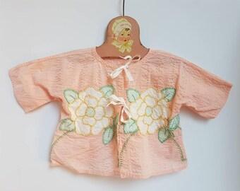 Vintage handmade toddler top