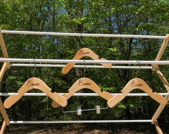 Personalized Baby Hangers - Laser engraved