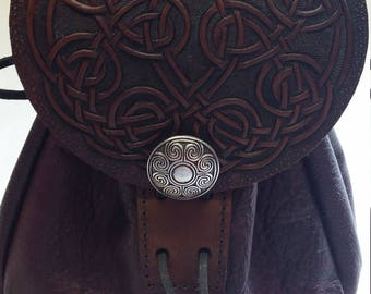 celtic tooled sporran