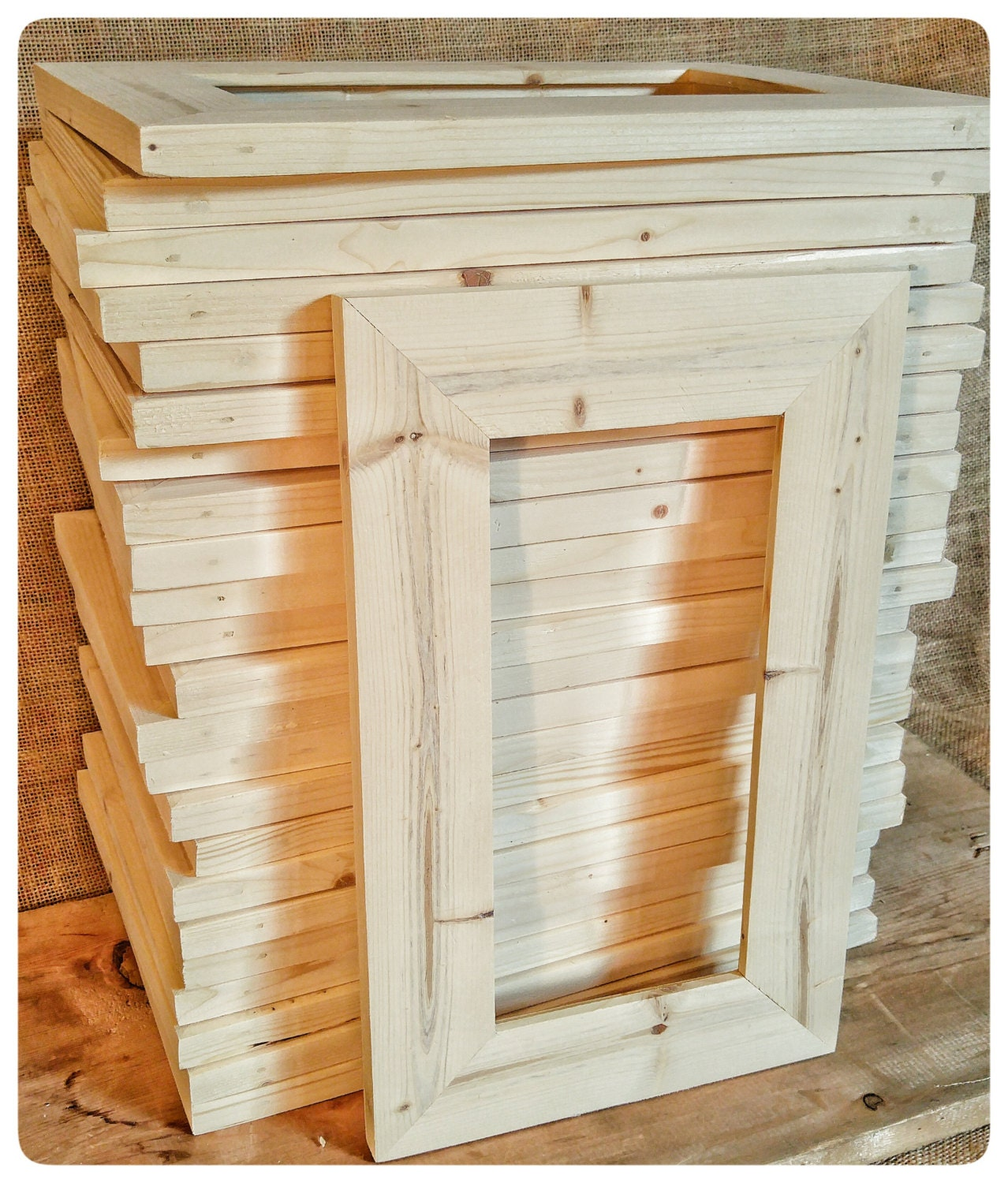 25 wood frames no hardware or glass bulk wood frames 5x10 wood 18500 jeuxipadfo Images