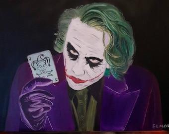 Heath Ledger's Joker Version / way Heath Ledger Joker