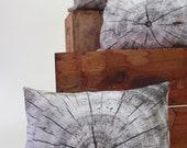 Driftwood pillow - made to order - decorative pillow - wood print