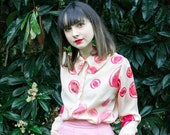 Kurrajong Fruit Blouse - Hand Printed by Alice