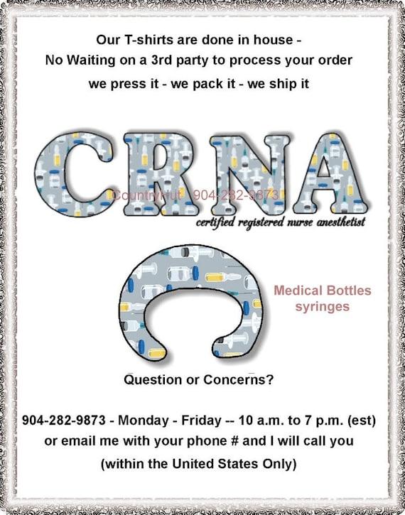 T Shirt Crna Certified Registered Nurse Anesthetist