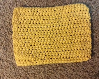 Hand crocheted dish cloths