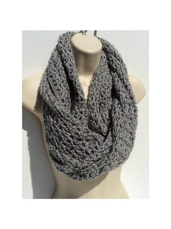 Crochet PATTERN SImple Elegance Mobius cowl Neck Scarf