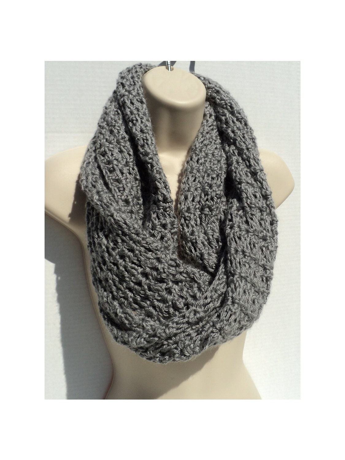 Crochet pattern simple elegance mobius cowl neck scarf zoom bankloansurffo Image collections