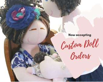 Custom Birthing and Breastfeeding Doll