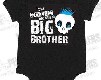 Big Brother Skull Bodysuit - 12 Month