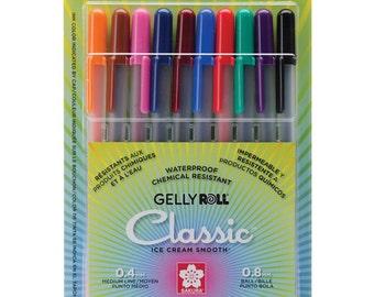 Fineliner Color Pen Set,0.38 mm Colored Fine Line Point Drawing Pens,10  Colors