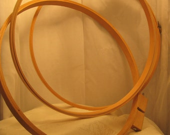 10 inch wooden Needlework hoops, embroidery hoops