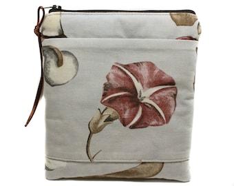 light floral fabric case