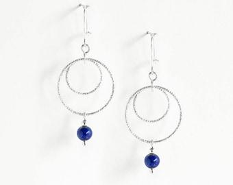 Earrings Lapis-Lazuli