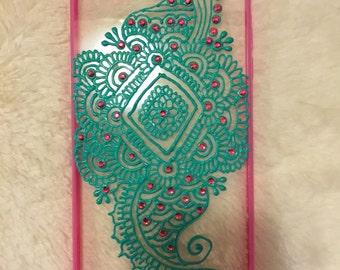 Henna Inspired Phone Case