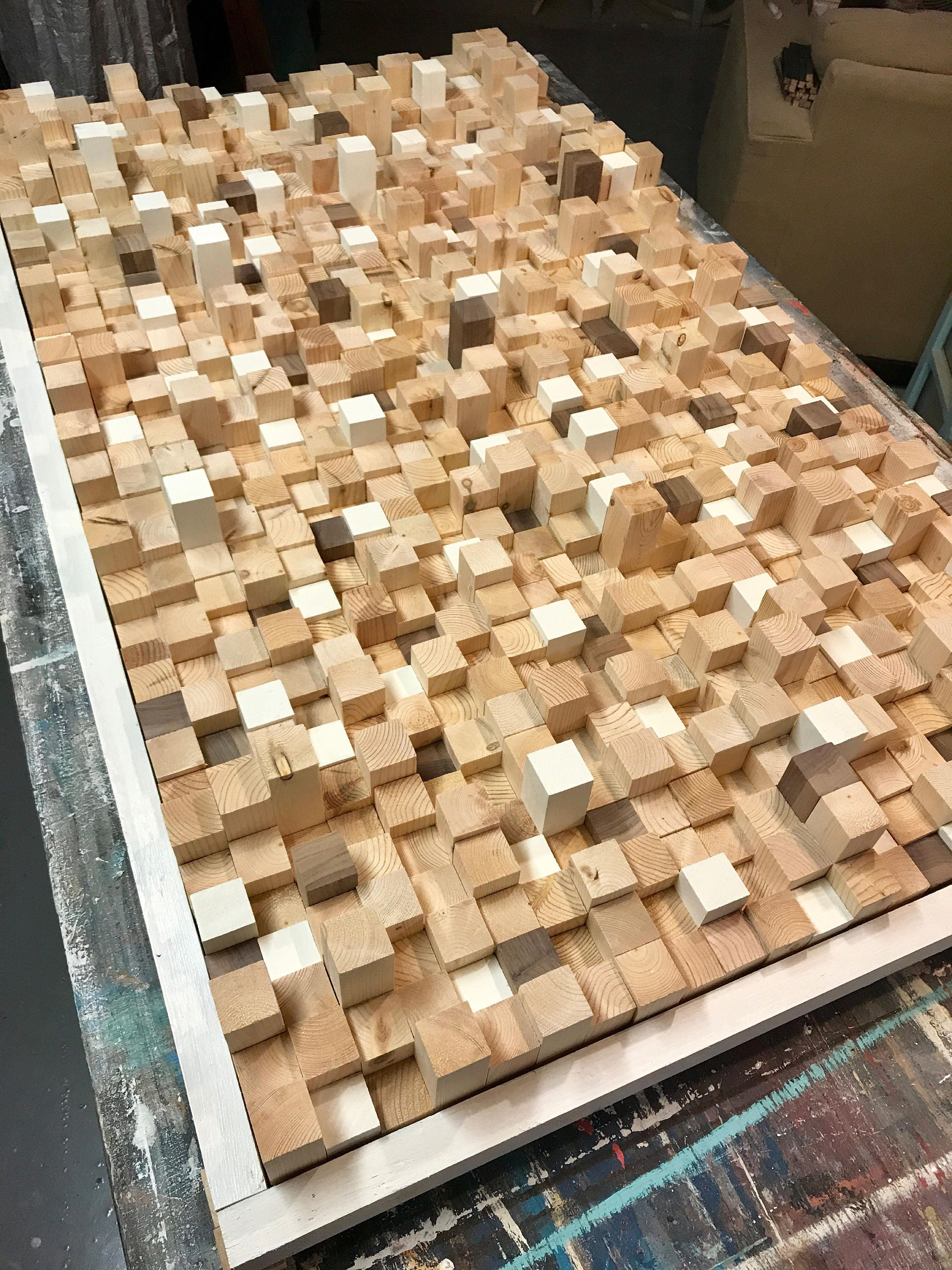 Studio Wooden Sound Diffuser Acoustic Panel SoundProofing