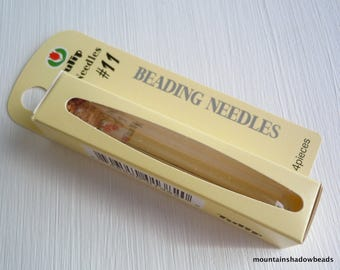 Tulip Beading Needle Size 11 - 4 Needles (G - 85)