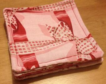 Set of 4 Ribbons and Bows Coasters