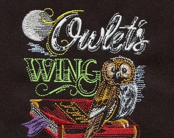 Cute Halloween--Embroidered quilt block