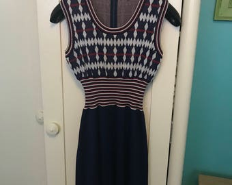 Vintage Mod Styled Sheath Dress