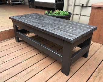 Warren Coffee Table/Bench