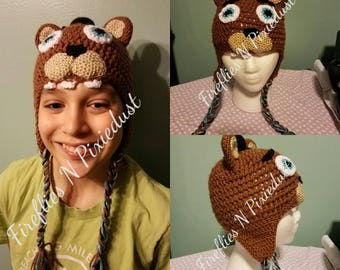 Five nights at Freddy's Hat- Crochet Pattern