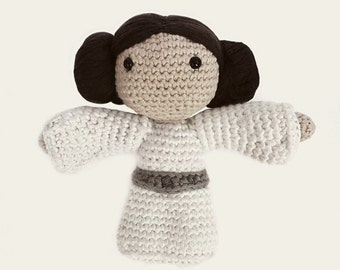 Leia - Star Wars. Amigurumi Pattern PDF, DIY, Crafts, Crochet Pattern, Princess Leia, Rebel Alliance, Geek, Gift, Cinema, Instant download
