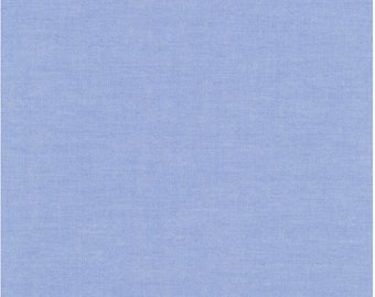 Oxford in Blue for Robert Kaufman - 1/2 Yard