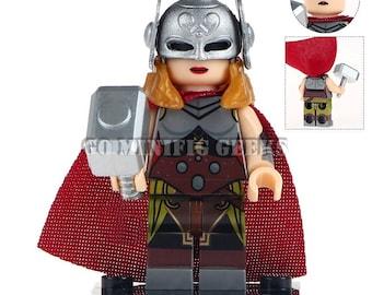 Custom Jane Foster Minifigure Marvel Comics Fits Lego UK Seller