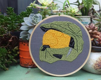 Master Chief Embroidery *Hand made*