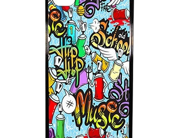Hard Case Design Tags Graffiti For Apple Iphone 4 - 4s