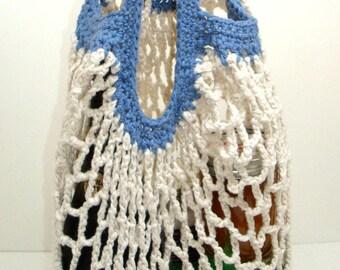 Shopping Bag Crochet Pattern - PDF