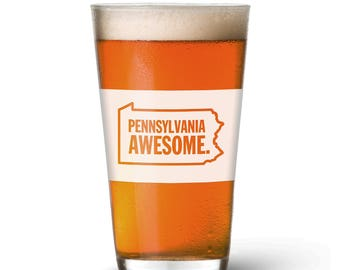 Pennsylvania Awesome Pint Glass