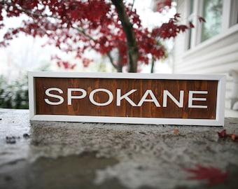 SPOKANE - Sign