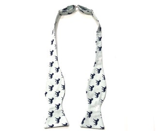 Aqua Blue Horses Self Tie Bow Tie, Derby Party, Adjustable, Derby Horses, Kentucky, Rodeo, Mens Bow Tie, Horse Racing, Pink Horses