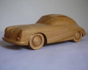 Porsche 356 wood sculpt