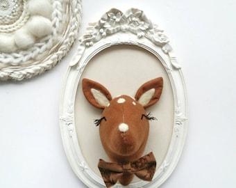 Trophy deer bow tie