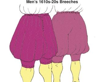 RH109 - 1620s Breeches Pattern