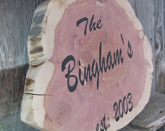Laser engraved Guest Book, personalized rustic guest book, wood slice guest book, large wood slice guest book, alternative guest book option