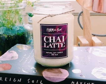 Chai Latte - Jam Jar Candle