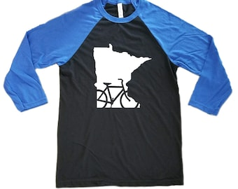 Bike Minnesota Raglan