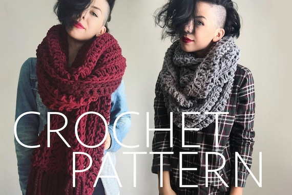 The Scarf CROCHET PATTERN