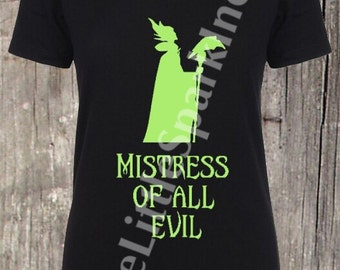 Mistress of all evil Maleficent sleeping beauty tank  disney villains tank  villans halloween disney halloween shirt disney witches