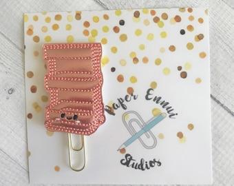 Planner cart Planner clip Paper clip Bookmark