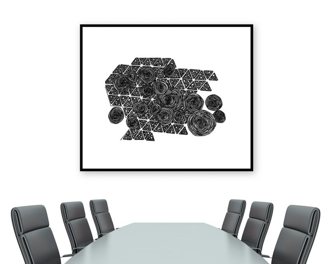 Sugarcane Tiles Print