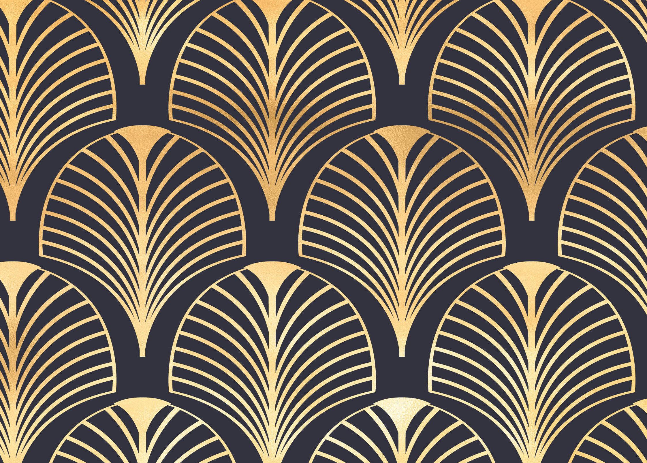 Art Deco Vintage Wallpaper
