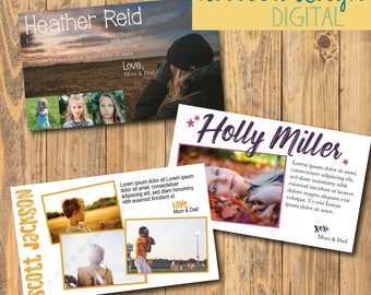 1/2 pg Ad | Custom Ad Design | Senior Yearbook Ads | Print Advertisement