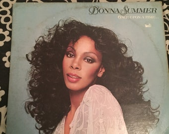 Donna Summer Once Upon A Time Vinly Record