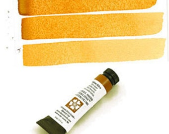 Daniel Smith: Yellow Ochre (284610114) Extra Fine Watercolors Tube, 5ml - Perfect for Bible Journaling!